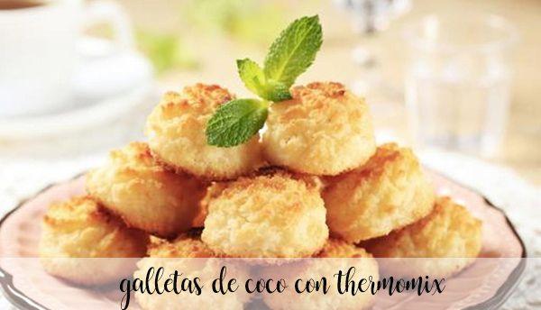 Galletas de coco con Thermomix