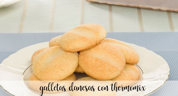 Galletitas danesas con Thermomix
