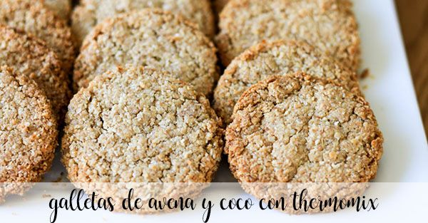 Galletas de avena y coco con Thermomix
