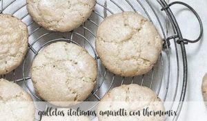 Galletas italianas amaretti con Thermomix