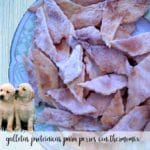 galletas proteinicas para perros con thermomix