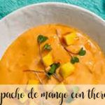 Gazpacho de mango con Thermomix