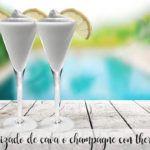 Granizado de champagne o cava con Thermomix