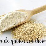 Harina de Quinoa con thermomix