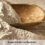 harina tostada con thermomix