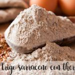 Harina de trigo sarraceno sin Gluten con thermomix