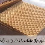 Helado al corte de chocolae con thermomix