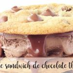 Helado de Sandwich de chocolate con Thermomix