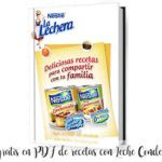 Libro gratis en PDF de recetas con Leche Condensada