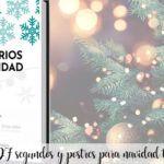 Libro en PDF de segundos y postres para navidad con thermomix