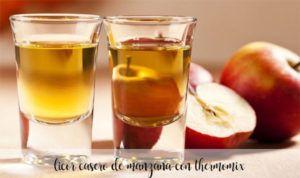Licor Casero de Manzana con Thermomix