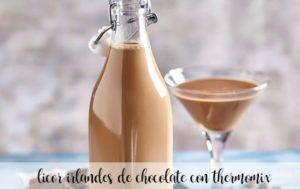 licor irlandes de chocolate con thermomix