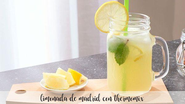 Limonada de Madrid con thermomix