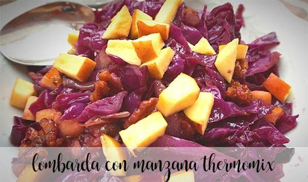 Lombarda con Manzana con thermomix