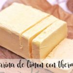 Margarina de limon con thermomix