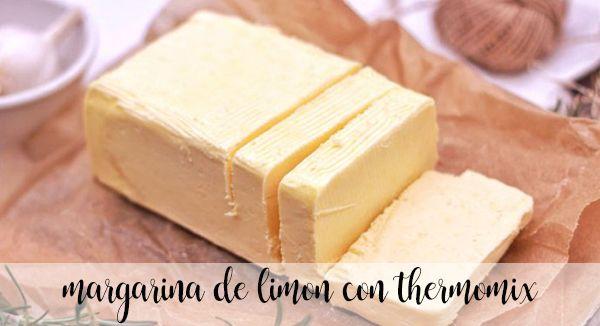 Margarina de limon con thermomix