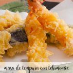 masa de tempura con thermomix