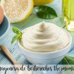 Mayonesa de berberechos con thermomix