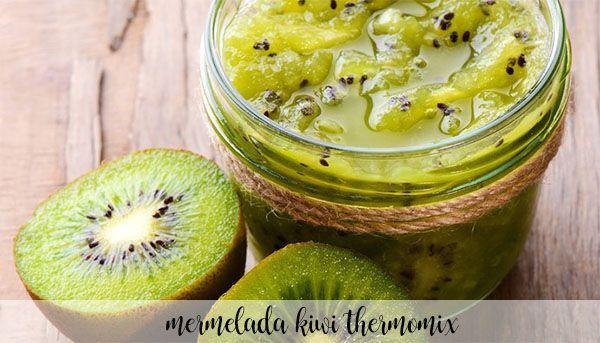Mermelada de kiwi con Thermomix