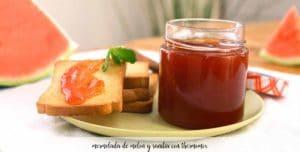 Mermelada de melón y sandía con thermomix