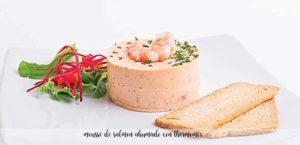 Mousse de salmon ahumado con thermomix
