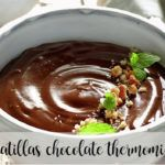 natillas de chocolate thermomix