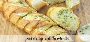 Pan de ajo y queso con Thermomix
