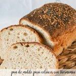 Pan de Molde para celiacos con thermomix