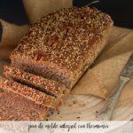 pan de molde integral con thermomix