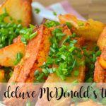Patatas deluxe McDonald´s con Thermomix