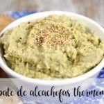 Paté de alcachofas con Thermomix