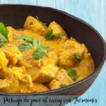Pechuga de pavo al curry con Thermomix