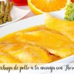 Pechuga de pollo a la naranja con Thermomix