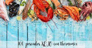 100 recetas de pescado KETO con thermomix