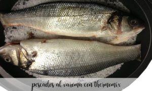 25 pescados al varoma con thermomix
