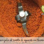 Como hacer polvo de semilla de aguacate con thermomix