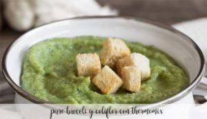 Puré de brócoli y coliflor con Thermomix