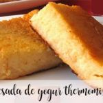 Quesada de yogur con thermomix