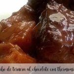 Rabo de ternera en salsa de chocolate con Thermomix