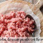 recetas con carne picada con thermomix