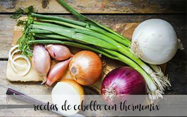 75 recetas con cebolla con thermomix