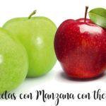 75 recetas con manzana con thermomix