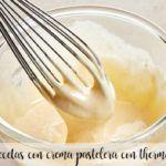 recetas con crema pastelera con thermomix