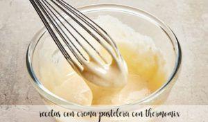 25 recetas con crema pastelera con thermomix