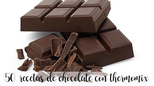 50 postres con chocolate con thermomix