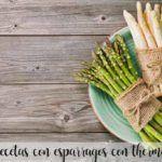 25 recetas con esparragos con thermomix