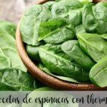 recetas espinacas thermomix