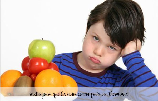 25 recetas para que los niños coman fruta con thermomix