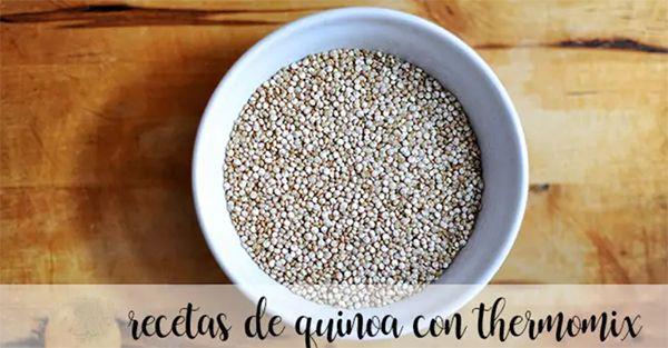 20 recetas de quinoa con thermomix
