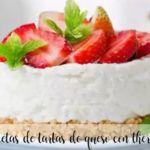 recetas de tarta de queso para thermomix
